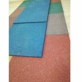 Цветная резиновая плитка 500х500х16 мм