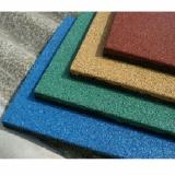 Цветная резиновая плитка 500х500х30 мм
