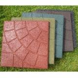 Цветная резиновая плитка Колодец 300х300х16 мм
